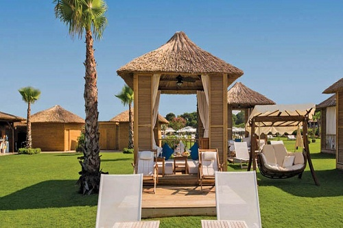 ساحل اختصاصی هتل رگنوم آنتالیا Regnum Carya Resort