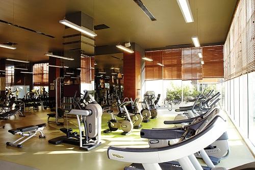 سالن تناسب اندام هتل تایتانیک دلوکس آنتالیا