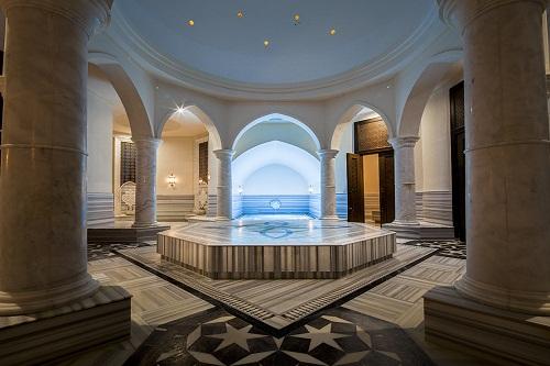حمام ترکی سالن ماساژ هتل تایتانیک دلوکس آنتالیا