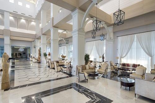 لابی هتل تایتانیک دلوکس آنتالیا Titanic Deluxe Belek