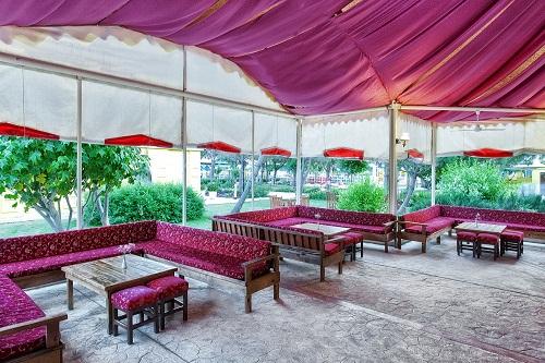چادر Tsars Tent در هتل وو کرملین