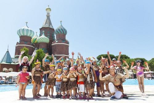 کلوپ کودکان هتل وو کرملین آنتالیا WOW Kremlin Palac