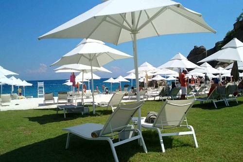 بخش اول ساحل اختصاصی هتل مکس رویال کمر آنتالیا