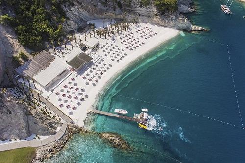 بخش دوم ساحل اختصاصی هتل مکس رویال کمر آنتالیا