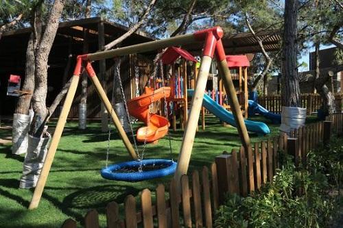 زمین بازی روباز کوپ کودکان هتل مکس رویال کمر آنتالیا