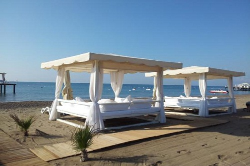 ساحل اختصاصی هتل رویال وینگز آنتالیا