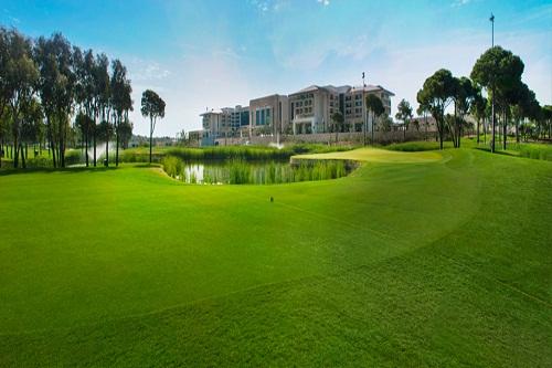 زمین گلف ههتل رگنوم آنتالیا Regnum Carya Resort