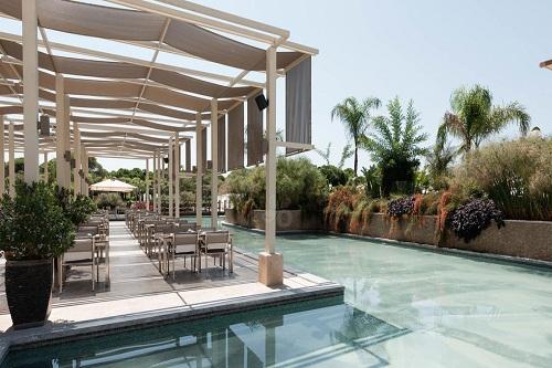 تراس رستوران اصلی هتل 5 ستاره رگنوم آنتالیا