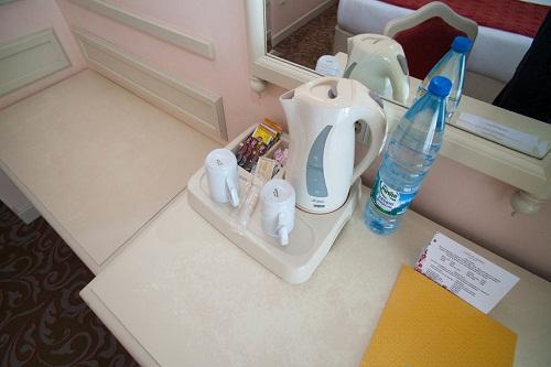 امکانات اقامتی اتاق های استاندارد هتل وو کرملین