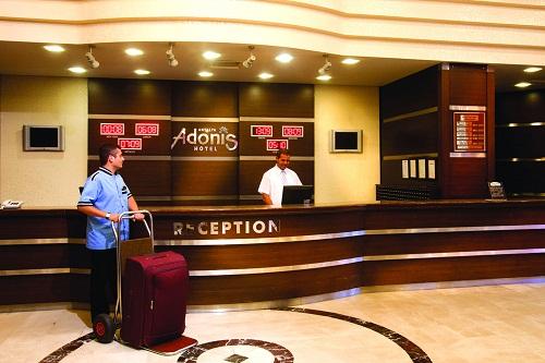 پذیرش هتل آدونیس
