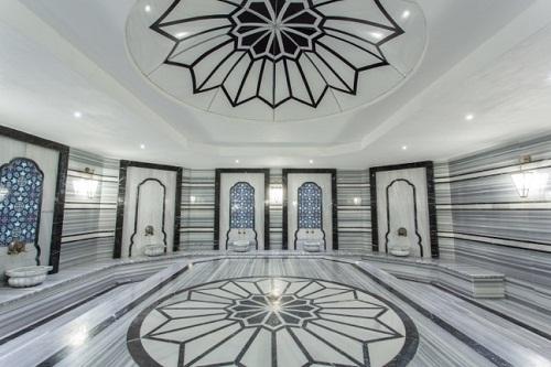 حمام ترکی در هتل شروود لارا