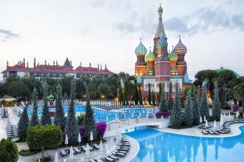 امکانات اقامتی هتل وو کرملین آنتالیا WOW Kremlin Palace