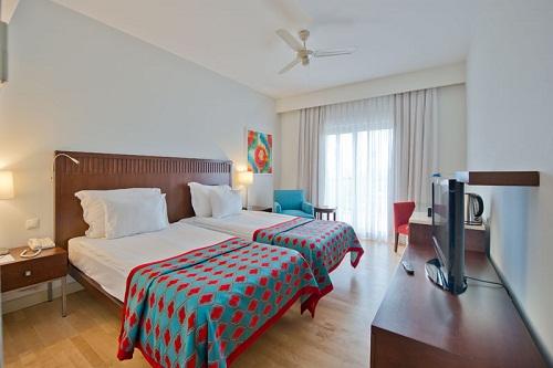 اتاق های استاندارد هتل 5 ستاره باروت لارا آنتالیا