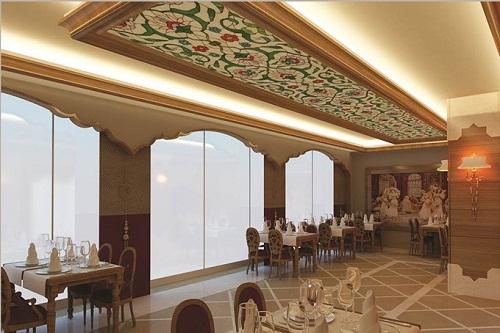 رستوران ترکی Lalezar A'la Carte Restaurant در هتل شروود لارا