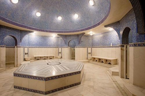 حمام ترکی هتل 5 ستاره آدونیس آنتالیا