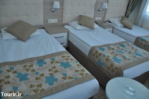 اتاق های هتل سندر