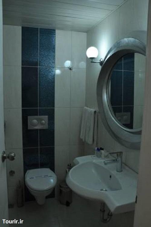 سرویس بهداشتی و حمام هتل سندر