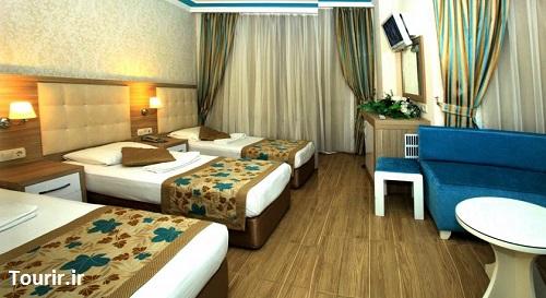 اتاق های هتل سندر آنتالیا