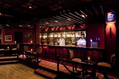 کلوپ شبانه در هتل 5 ستاره آدونیس آنتالیا