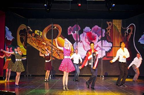 آمفی تئاتر روباز هتل 5 ستاره رویال هالیدی پالاس آنتالیا