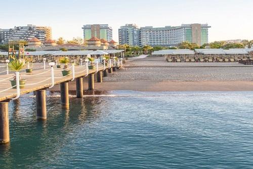 ساحل اختصاصی هتل شروود لارا آنتالیا Sherwood Breezes