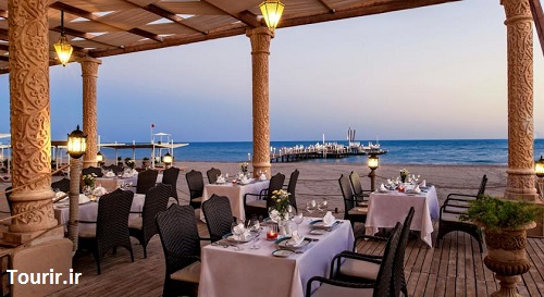 رستوران ساحلی هتل اسپایس