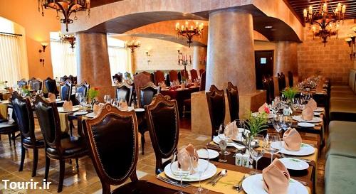رستوران داخلی هتل اسپایس