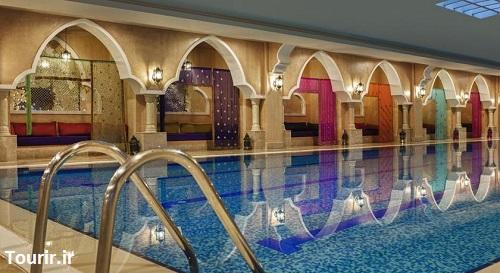 استخر داخلی هتل اسپایس آنتالیا
