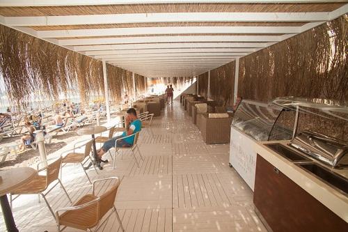 اسنک بار ساحل اختصاصی هتل پورتوبلو