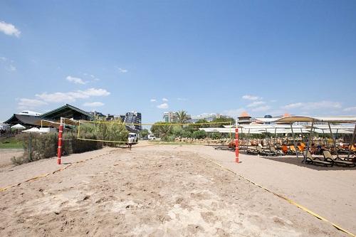 والیبال ساحلی در هتل 5 ستاره شروود لارا آنتالیا