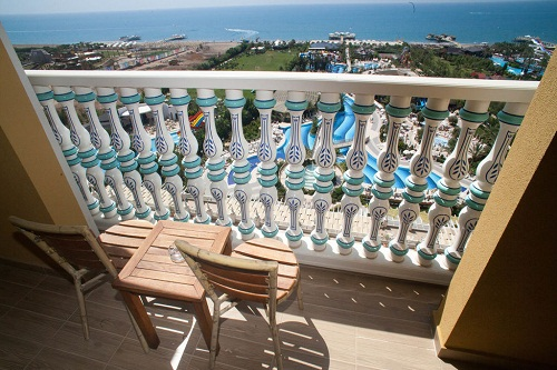 اتاق های خانواده هتل 5 ستاره رویال هالیدی پالاس آنتالی
