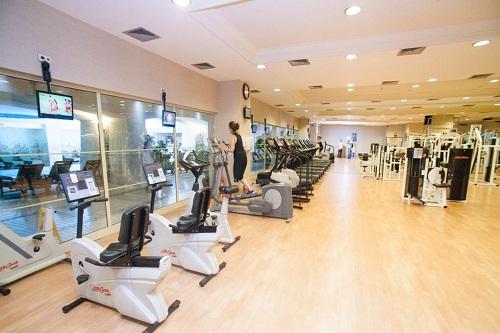 سالن تناسب اندام هتل 5 ستاره پورتوبلو آنتالیا