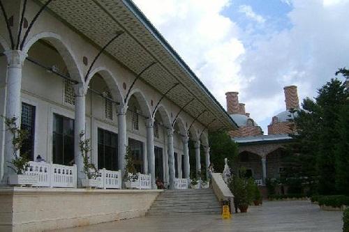 ورودی لابی هتل 5 ستاره وو توپکاپی آنتالیا