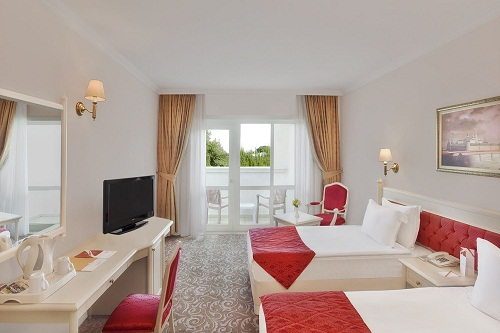 اتاق های استاندارد هتل کرملین آنتالیا