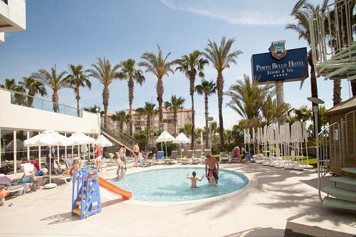 استخر کودکان هتل 5 ستاره پورتوبلو آنتالیا