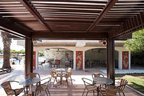 اسنک بار Splash Pool Bar استخر اصلی هتل 5 ستاره شروود لارا آنتالیا