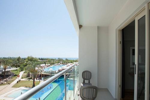 اتاق های استاندارد Standard Rooms هتل 5 ستاره شروود لارا آنتالیا