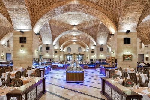 رستوران های هتل وو توپکاپی آنتالیا WOW Topkapi Palace