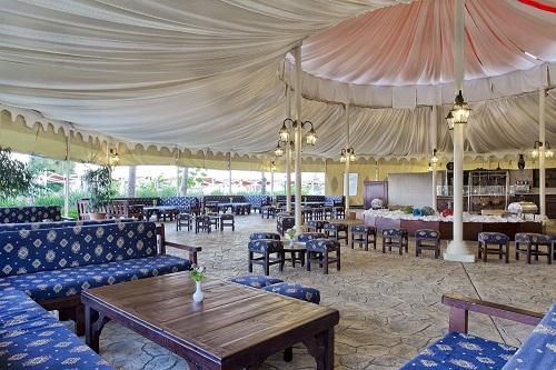 چادر Tent Of The Sultans در هتل توپکاپی آنتالیا