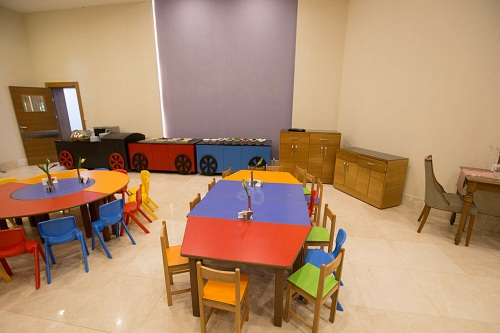 بخش کودکان رستوران اصلی هتل شروود لارا