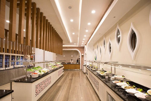 رستوران های هتل شروود لارا آنتالیا Sherwood Breezes