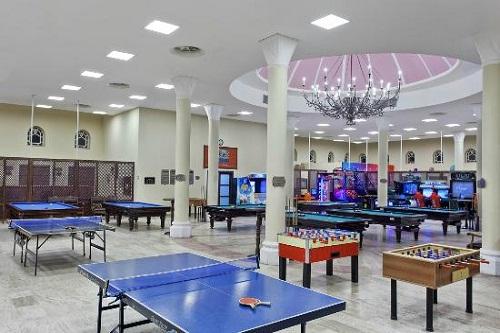 سالن بازی در هتل 5 ستاره وو توپکاپی آنتالیا