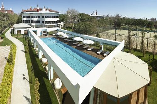 استخر ویلا های هتل 5 ستاره وو توپکاپی آنتالیا