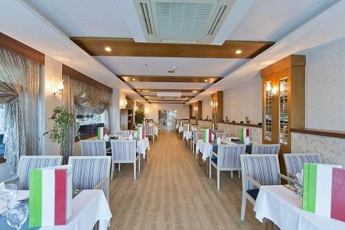 رستوران ایتالیایی Italian A'la Carte Restaurant در هتل سی لایف