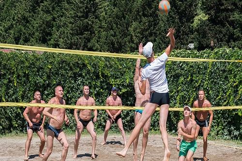 والیبال ساحلی در هتل 5 ستاره گرند رینگ آنتالیا