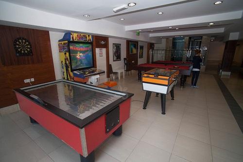 سالن بازی در هتل 5 ستاره سی لایف آنتالیا