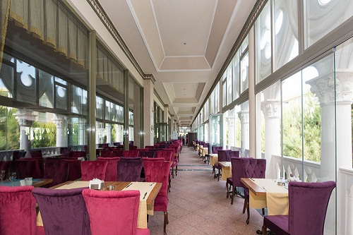 رستوران اصلی هتل 5 ستاره ونیزیا پالاس آنتالیا