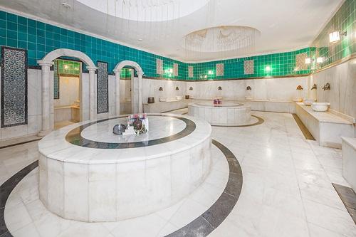 حمام ترکی هتل 5 ستاره گرند رینگ آنتالیا