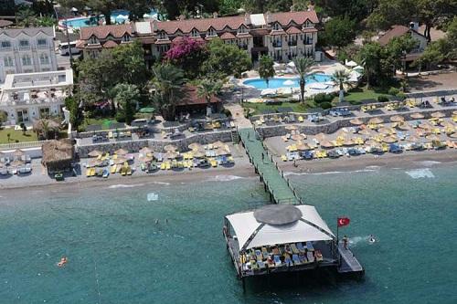 ساحل اختصاصی هتل گرند رینگ آنتالیا Grand Ring Hotel