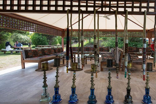 کافه ترکی در هتل 5 ستاره ونیزیا پالاس آنتالیا